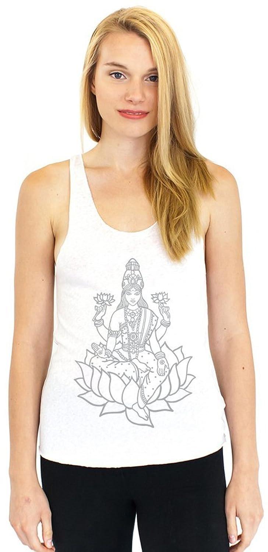 "Yoga Clothing For You Ladies ""Tara Sketch"" Racerback Tank Top"