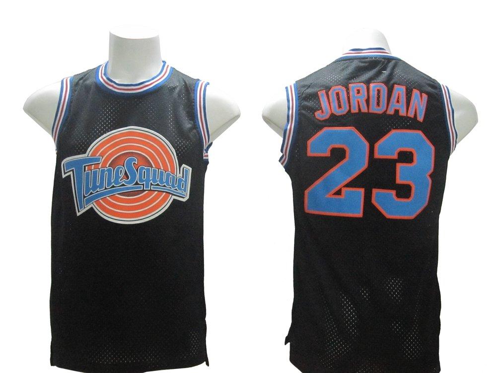 new style 3e003 5f4af Amazon.com: Michael Jordan Space Jam #23 Tune Squad Jersey ...
