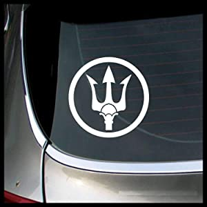 Poseidon Trident, Percy Jackson-inspired MEDIUM Vinyl Decal