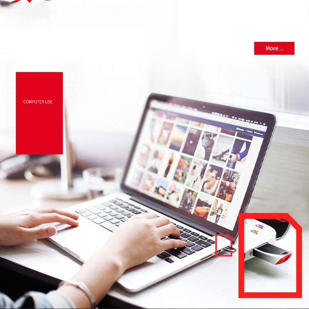 CHAOZHAOHENG USB Flash-Take it All with You,High Performance USB 3.0 speeds up to 130MB//s Read,Supports Windows 8 Office Supplies Vista School Windows 7 for Home