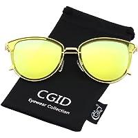 CGID Gafas de Sol Mujer Polarizadas Grande Diseñador de gran Tamaño gafas de sol polarizadas mujer Protección UV400…
