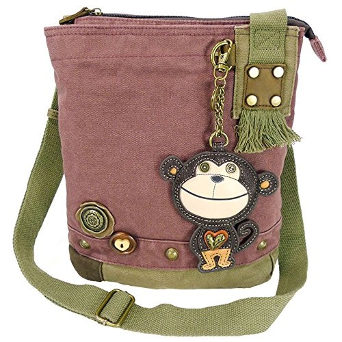 Monkey Patch Mauve Chala Handbag Crossbody dwXvdZq