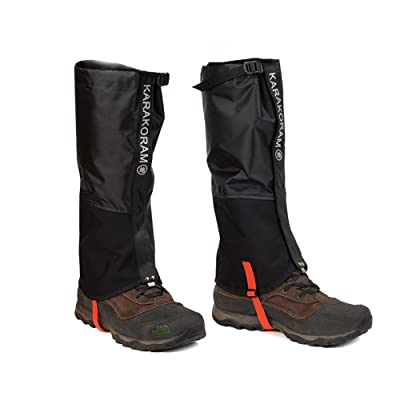 Weanas Leg Gaiters Waterproof Snow Boot Gaiters Anti-Tear Oxford Fabric Shoes Cover for Hiking, Skiing, Walking, Climbing, Mountain: Sports & Outdoors