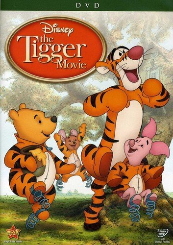 Animated Halloween Movies 2000 (The Tigger Movie: Bounce-A-Rrrific Special)