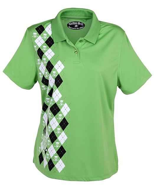 Tattoo Golf Diseño de Golf de la mujer Monster rendimiento Polo ...