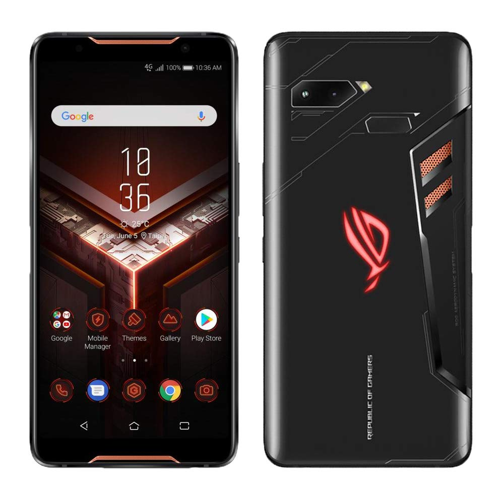 "ROG Phone Gaming Smartphone ZS600KL-S845-8G128G - 6"" FHD+ 2160x1080 90Hz Display - Qualcomm Snapdragon 845 - 8GB RAM - 128GB Storage - LTE Unlocked Dual SIM"