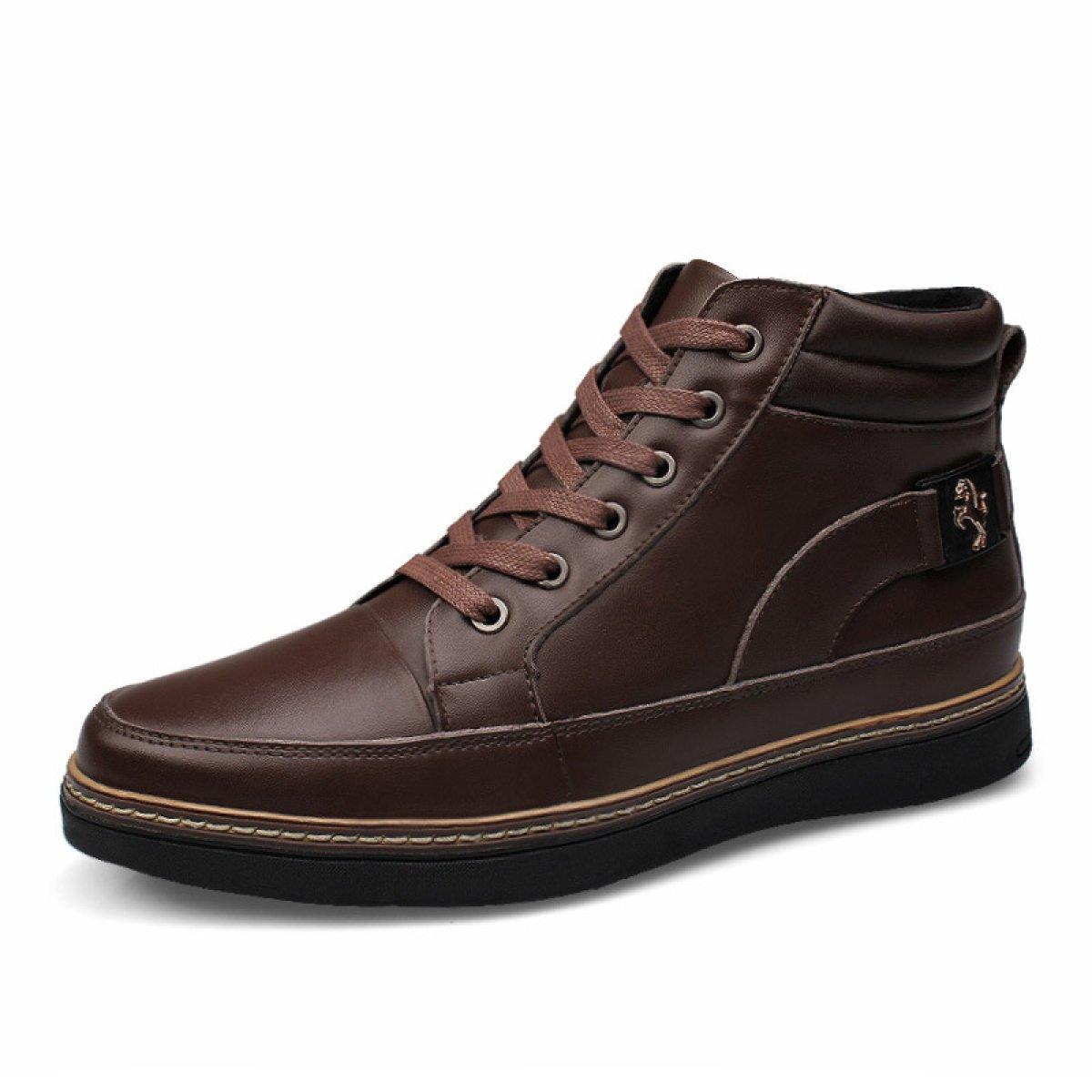 Herbst Und Winter Männer England Herrenschuhe Der Herrenschuhe Freizeitschuhe Schuhe In Der Herrenschuhe Hilfe SingleschuheBraun eecac4