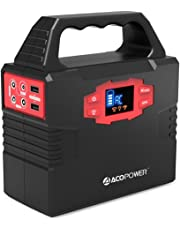 ACOPOWER HY-S320-CA 150Wh Portable Solar Generator Power Supply Energy Charged