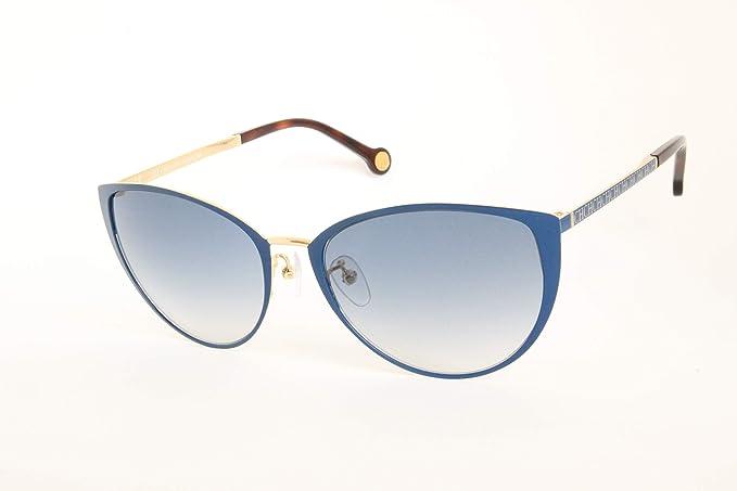Carolina Herrera SHE0870354 Gafas de sol, Azul, 56 para Mujer