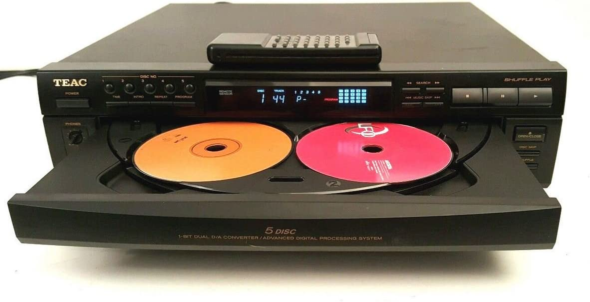 Teac PD-D2500 Compact Disc Multi Player