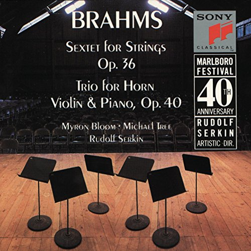 Price comparison product image Brahms: Sextet, Op. 36 / Trio for Horn, Violin & Piano