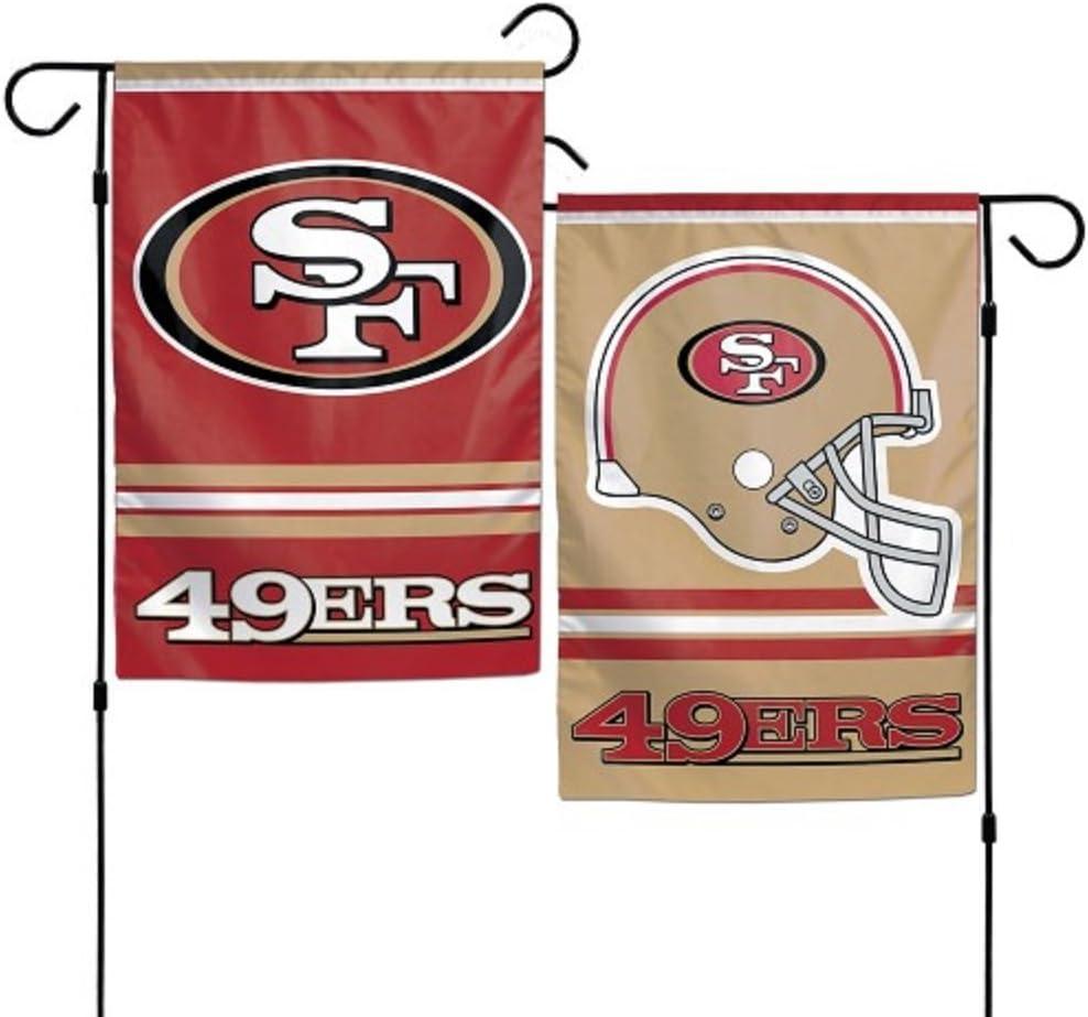 "WinCraft NFL San Francisco 49ers WCR08384013 Garden Flag, 11"" x 15"""