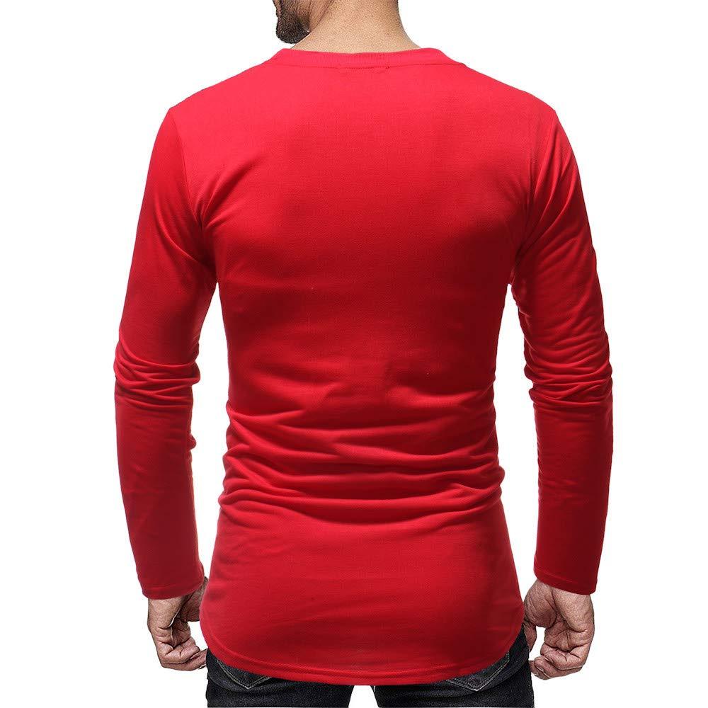 Hombres Manga Larga rasguños Agujero Empalme Trajes Casuales Camisas Blusa Top por Internet: Amazon.es: Ropa y accesorios