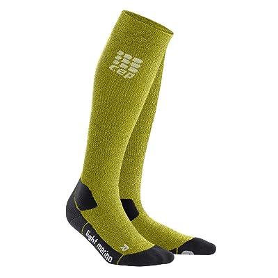 .com : CEP Women's Long Compression Light Merino Wool Socks for Hiking : Sports & Outdoors