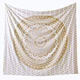 Popular Handicrafts Th566 Twin Original Gold Ombre Tapestry Indian...