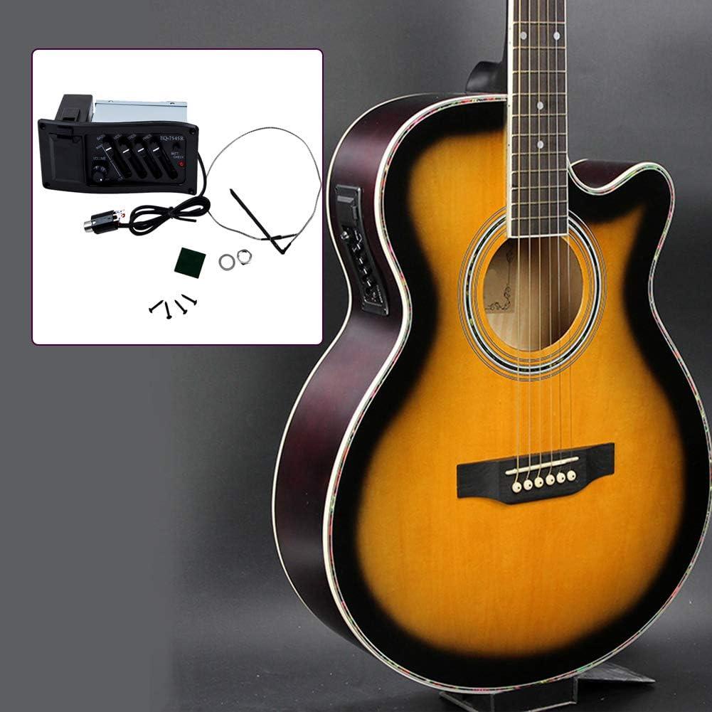 Redcolourful - Preamplificador para Guitarra acústica de 4 Bandas ...