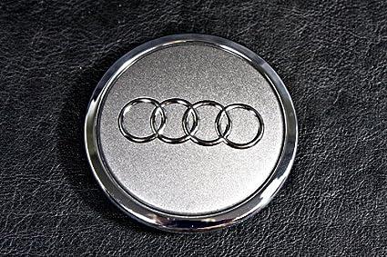 Genuine 19/aleaci/ón rueda Center Hub gris Cap 1pcs Audi 8t0601170/a7zj