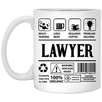 Lawyer Coffee Mug