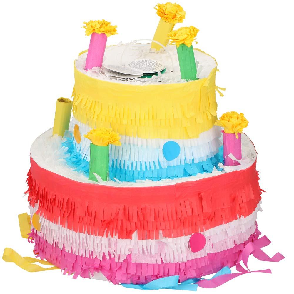 Pi/ñata Geburtstagstorte Pinata Pinjatta Kindergeburtstagsspiel zum bef/üllen mit S/ü/ßigkeiten