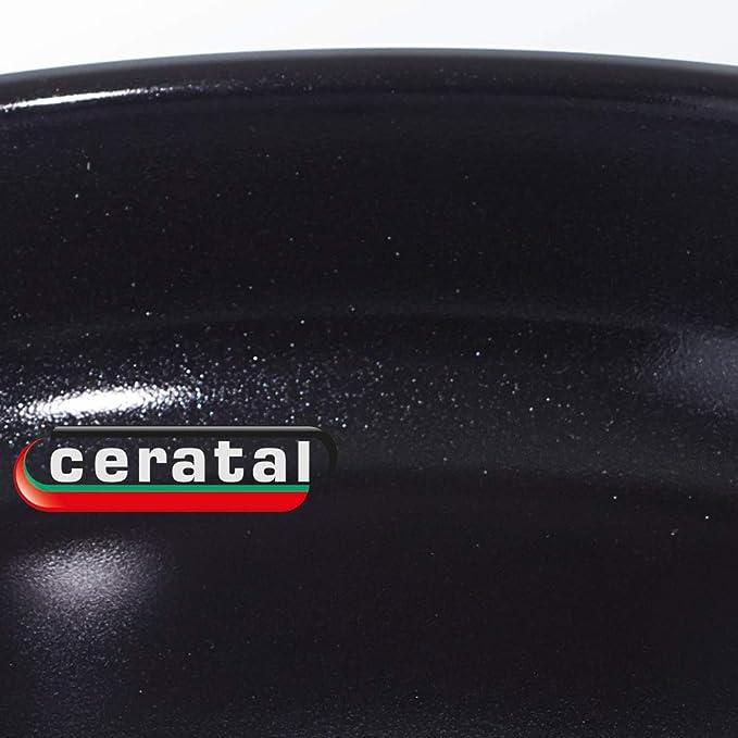 Fissler Crispy Ceramic Comfort Sartén, Acero Inoxidable, Plateado