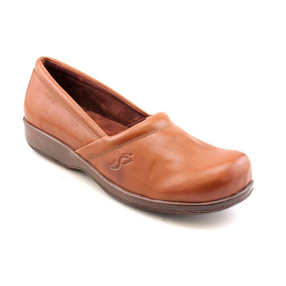 SoftWalk Women's Adora Cognac Veg Calf 9.5 N