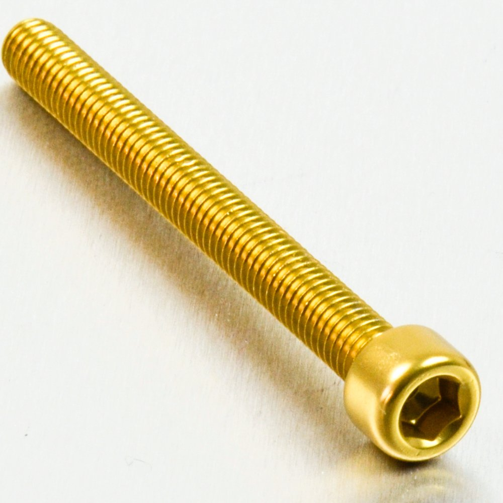 x 65mm Black Aluminium Allen Bolt M6 x 1.00mm