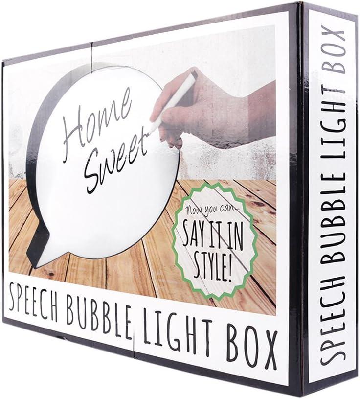 lampadine a LED,batteria o alimentato via USB,grande per il supermercato il partito luminosa Ovale Light Box,Luce della scrittura a mano box//cartellone creazioni palloncino,message board