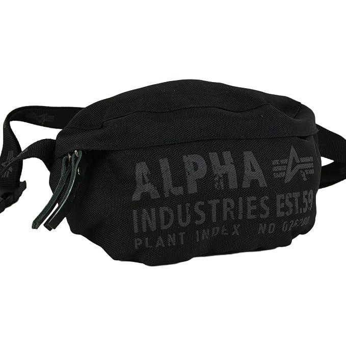 Neu werden Herbst Schuhe klassische Schuhe Alpha Industries Gürteltasche Cargo Oxford Waist Bag Bauchtasche black -  Einheitsgrösse