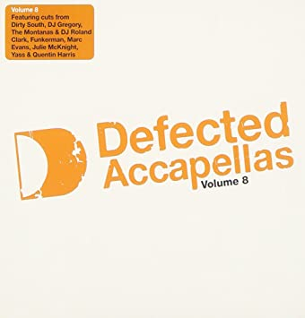 VARIOUS ARTISTS - Defected Acapellas 8 - Amazon com Music