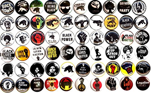 Black Panther Party Set of 60 New 1