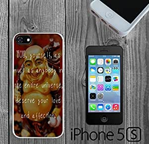 Buddha Love Inspiration Quote Custom made Case/Cover/Skin FOR iPhone 5/5s