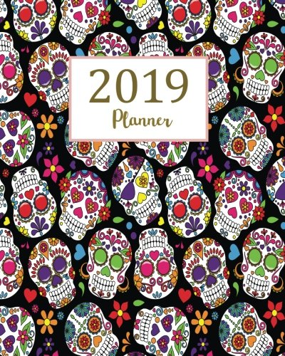 2019 Planner: Daily Weekly Monthly Planner Calendar, Journal Planner and Notebook, Agenda Schedule Organizer, Academic Student Planner, Appointment & Ornaments (January 2019 to December 2019)