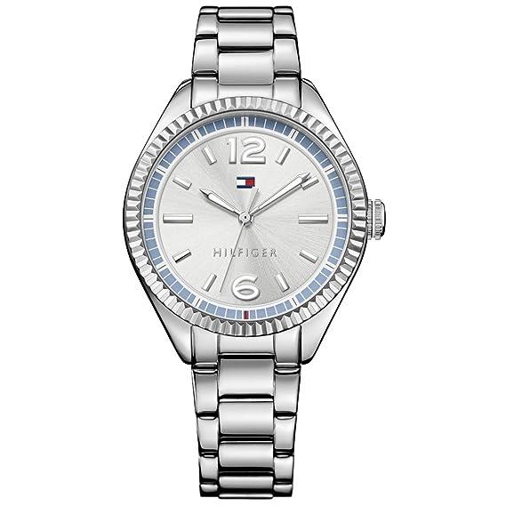 Tommy Hilfiger – Reloj de Pulsera analógico para Mujer Cuarzo Acero Inoxidable 1781519