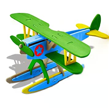 3d Puzzle Wooden Airplanes Model Airplanes Kits World Puzzle Kids Art Projects Craft Wood 3d Puzzles For Kids Adults Wood Diy Airplanes Gift For