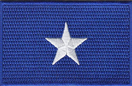 BONNIE BLUE STAR Iron On Flag Confederate Civil War