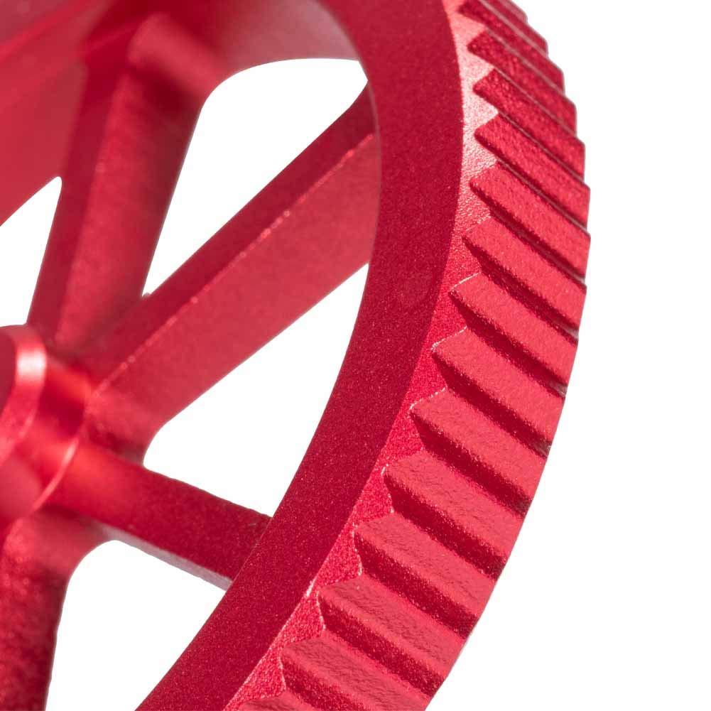 CR 20 impresora 3D CR-10 Sovol Creality Ender 5//5 Plus//Pro CR10S//10S Pro Tuerca niveladora de mano de aluminio con 4 muelles de presi/ón para Ender 3//3 Pro
