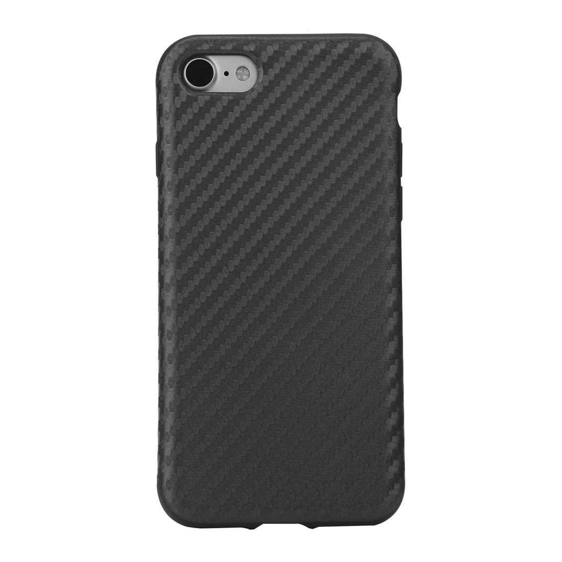 Carbon Fiber Phone Case Full Protect Phone Cover Protective Shell Case for iPhone 7