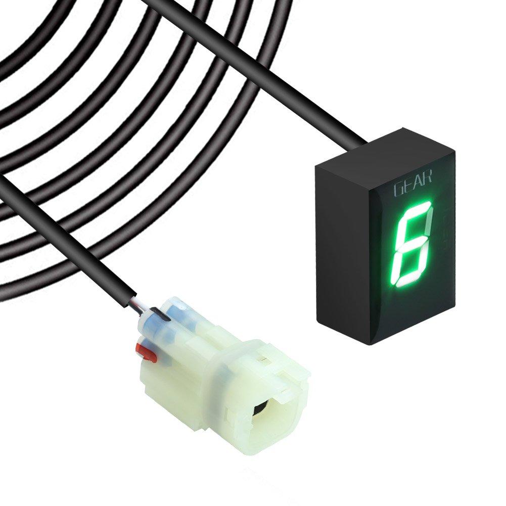 VERSYS 650 VERSYS 1000 2014 2015 2016 LED Vert Indicateur de Vitesse /étanche pour Moto Affichage LED Plug /& Play pour Kawasaki