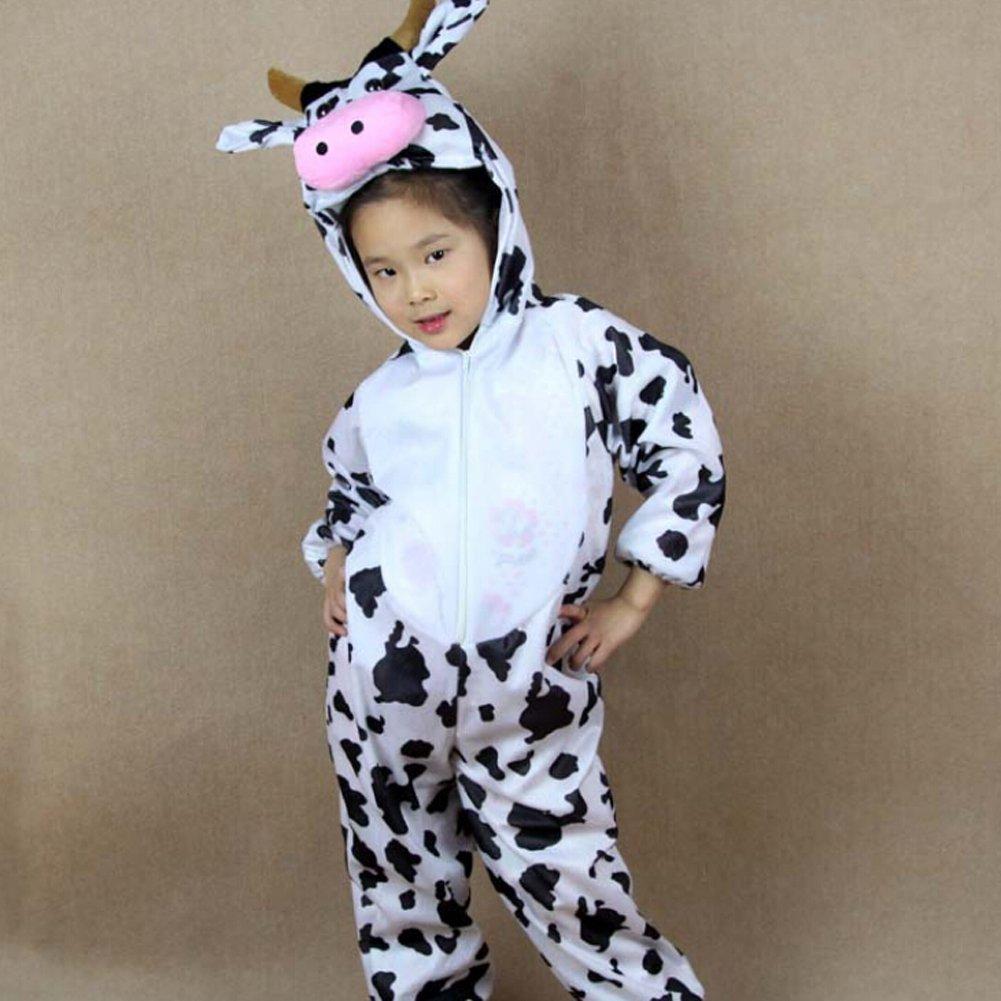 ANDAY Unisex Childrens Kids Cartoon Animal Pajamas Hooded Onesies Costumes