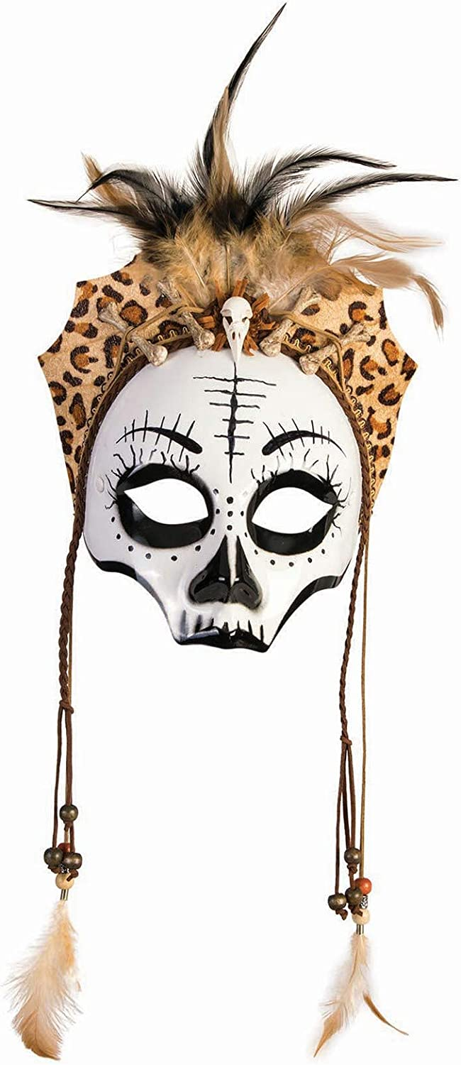 Forum Novelties Female Skull Voodoo Mask