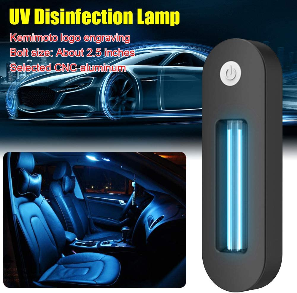 OPSLEA Charging UV Disinfection Lamp Portable Home Vehicle UV Germicidal Lamp