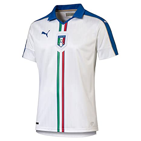 9a70d74d Image Unavailable. Image not available for. Color: PUMA Italia away/Replica  White Team power Blue XXL