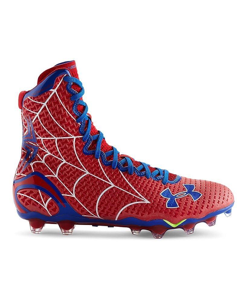 Under Armour UA Men's Highlight Mc Alter Ego Spiderman Football Cleats Spider-Man Size 11.5 1256694-602
