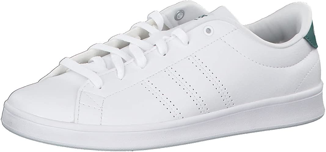 Porque muerto pozo  adidas Advantage Clean Qt, Women's Fitness Fitness Shoes, White  (Ftwbla/Vernob 000), 8 UK (42 EU): Amazon.co.uk: Shoes & Bags