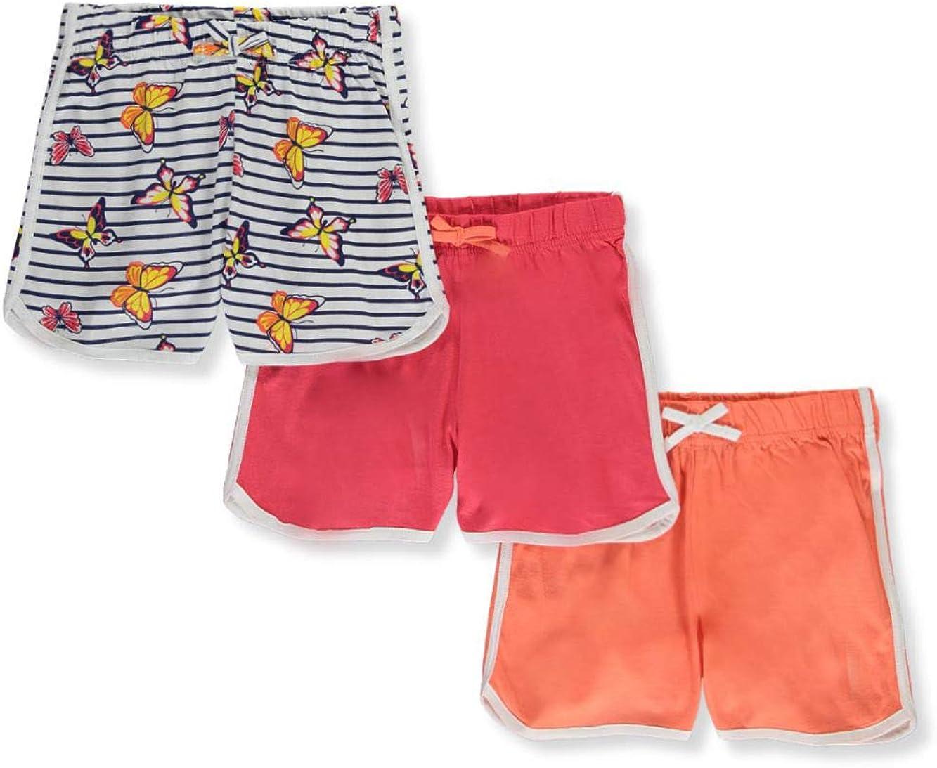 Pink Velvet Girls 3-Pack Jersey Shorts