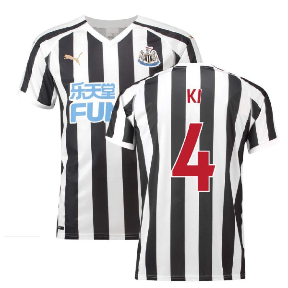 2018-2019 Newcastle Home Football Soccer T-Shirt Trikot (Ki Sung-yueng 4)