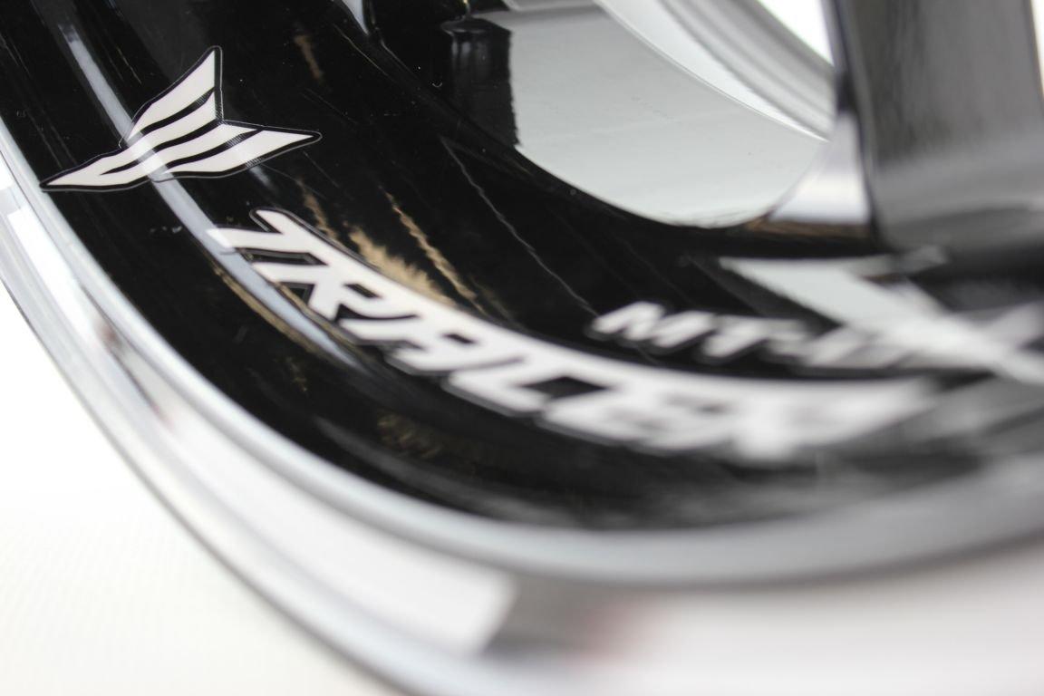 Liserets de jantes SpecialGP Moto Yamaha MT-09 Tracer Blanche Autocollants