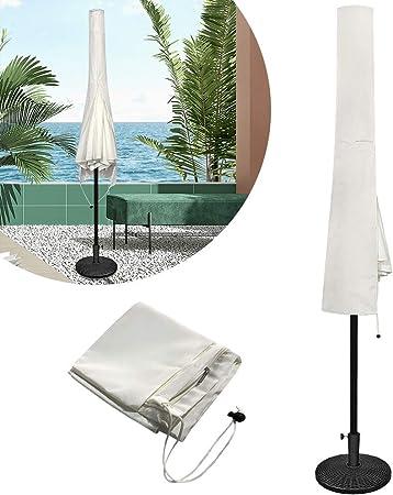 wasserdichte Schutzhülle für Ampelschirme Sonnenschirm mit Durchmesser 3 Meter