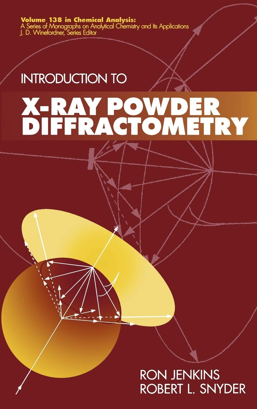 X-Ray Powder: 158 Chemical Analysis: A Series of ...