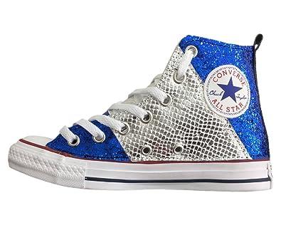 scarpe uomo converse blu elettrico